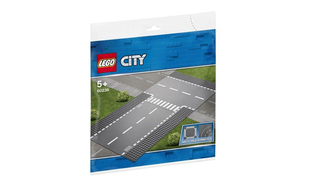 Lego City Reta e Entroncamento 2 Peças 60236 Lego