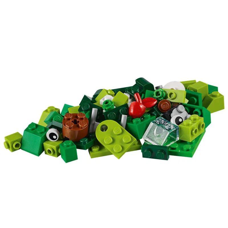 LEGO Classic Peças Verdes Criativas 60 Peças 11007