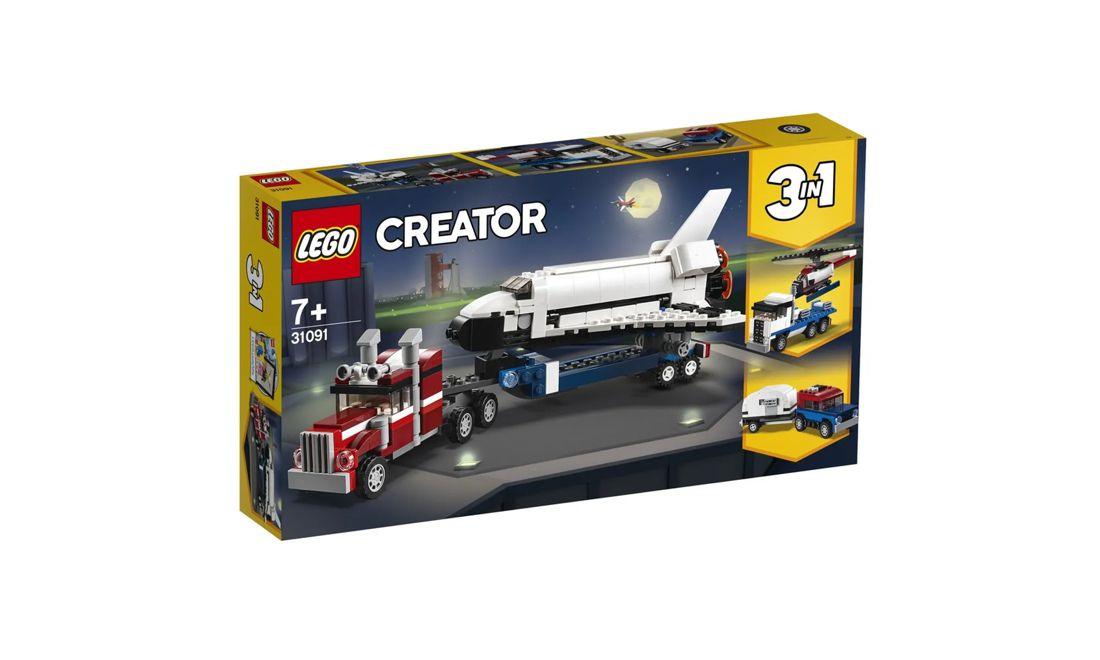 Lego Creator 3 em 1 Veículo Transportador 341 Peças 31091 Lego