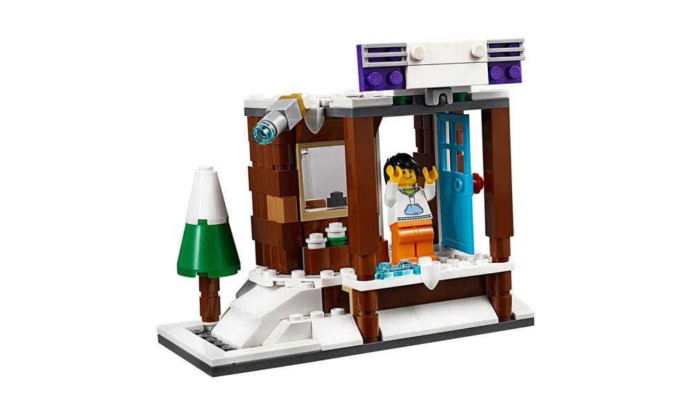 Lego Creator Modelo 3 em 1 Férias de Inverno 374 Peças 31080 Lego