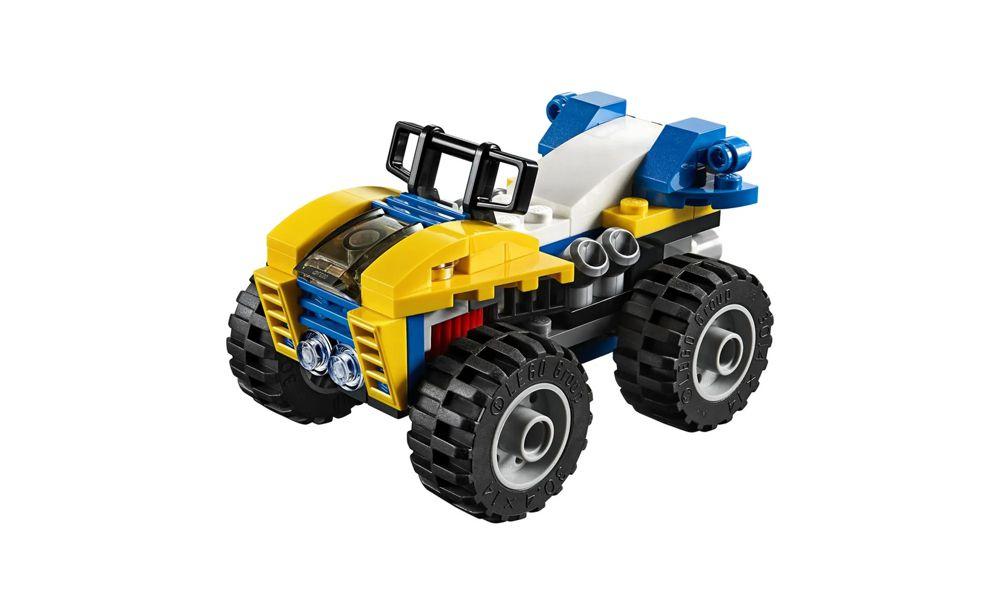 Lego Creator Modelo 3 em 1 Passeio nas Dunas 147 Peças 31087 Lego