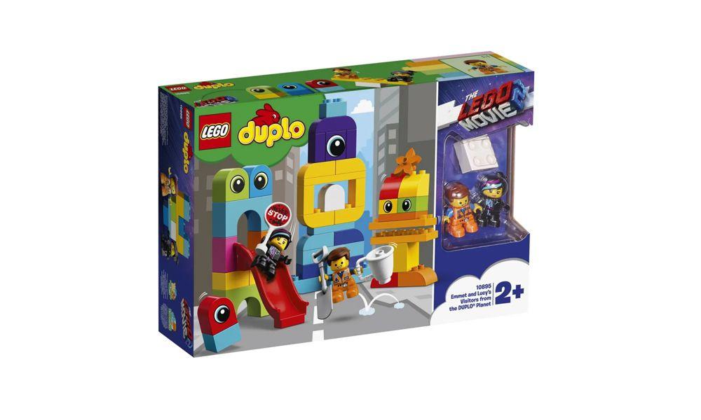 Lego Duplo Emmet e Lucy com os Invasores 53 Peças 10895 Lego