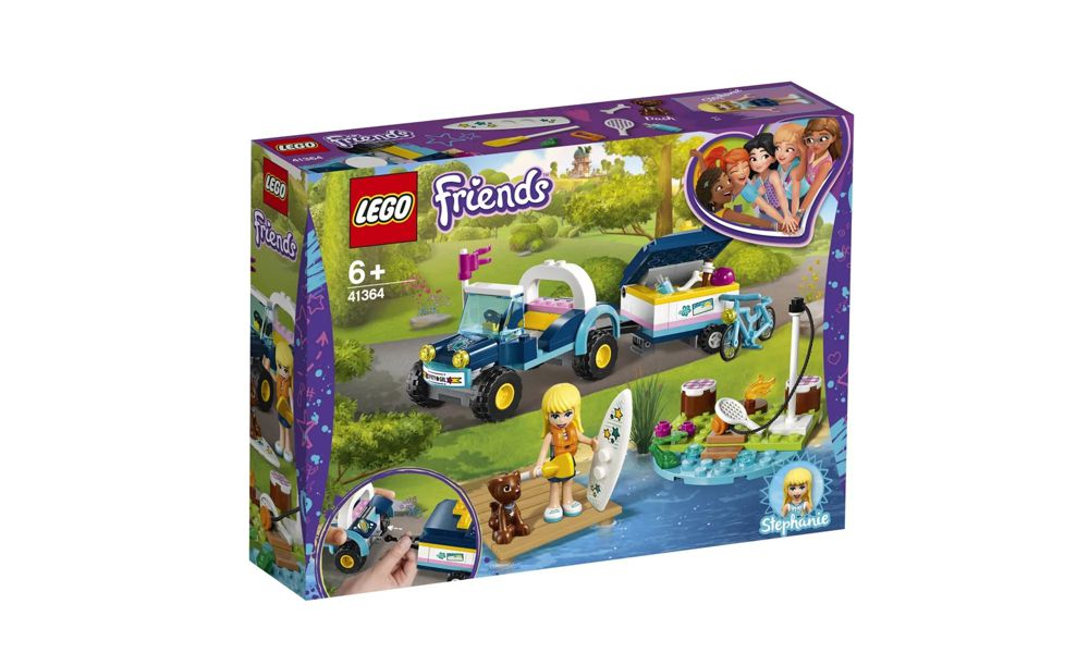 Lego Friends Buggy e Trailer da Stephanie 166 Peças 41364 Lego