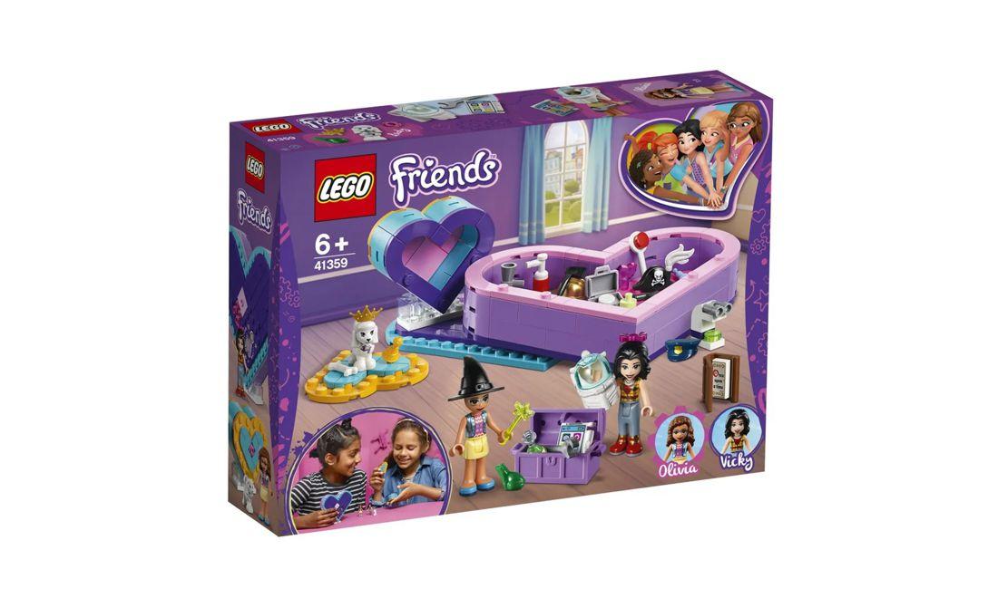Lego Friends Caixa de Coração da Amizade 199 Peças 41359 Lego