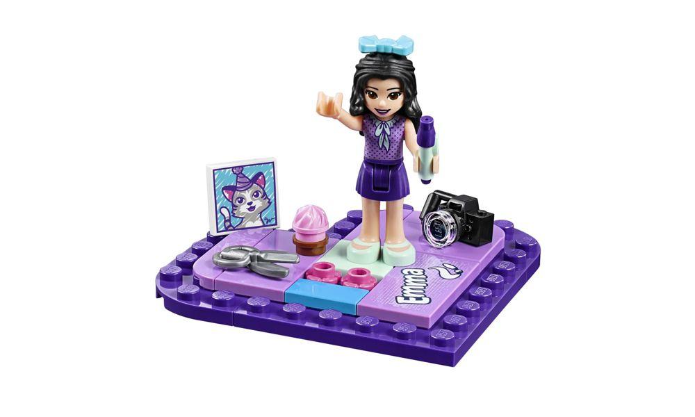 Lego Friends Caixa de Coração da Emma 85 Peças 41355 Lego
