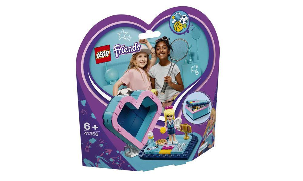 Lego Friends Caixa de Coração da Stephanie 85 Peças 41356 Lego