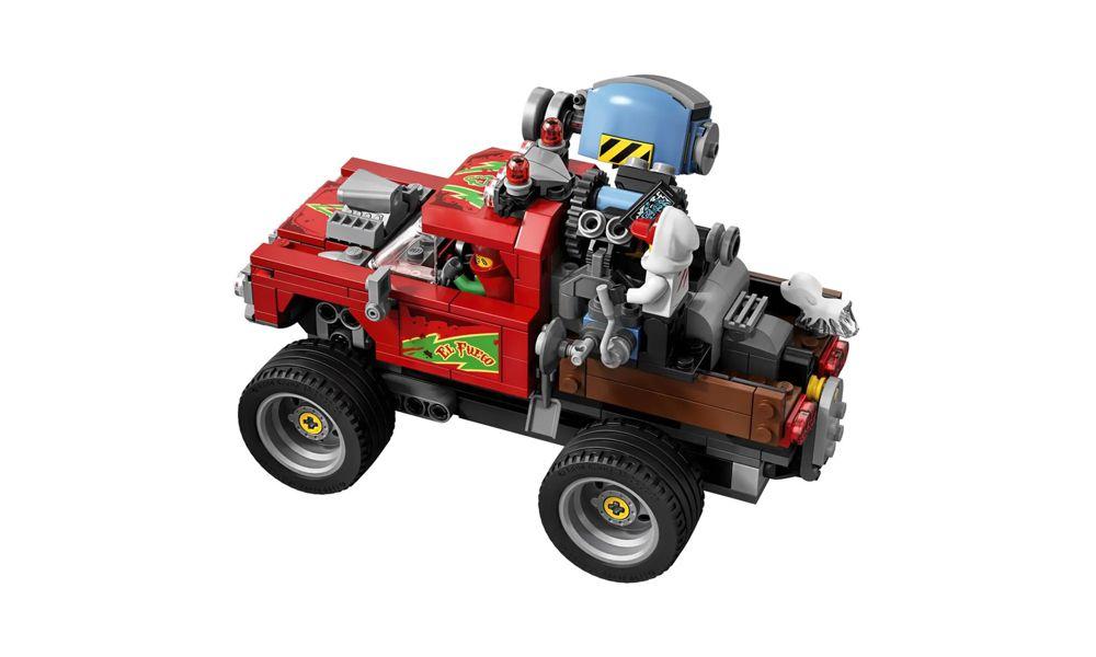 Lego Hidden Side Caminhão de Acrobacias do El Fuego 428 Peças 70421 Lego