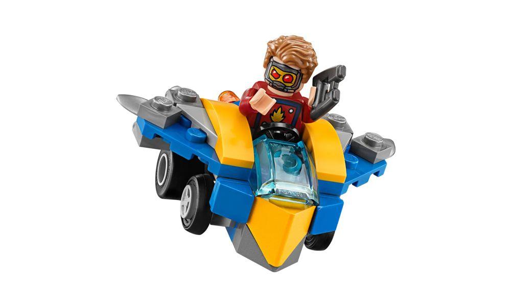 Lego Marvel Senhor das Estrelas Versus Nebula 86 Peças 76090 Lego
