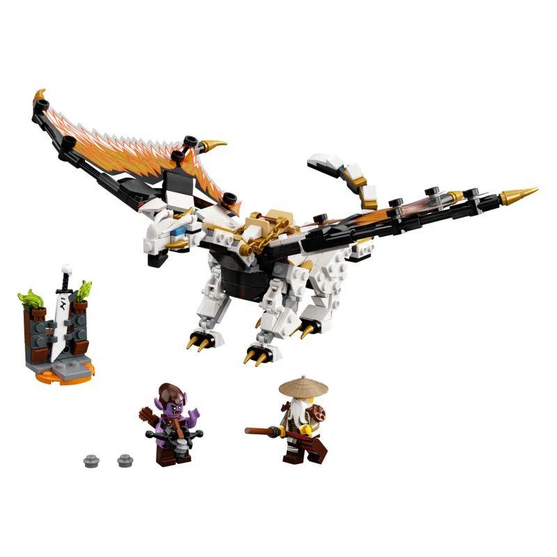 LEGO Ninjago Dragão de Combate de Wu 321 Peças 71718