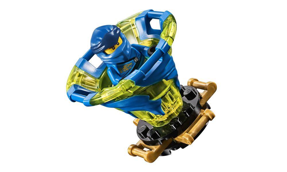 Lego Ninjago Spinjitzu Jay 97 Peças 70660 Lego