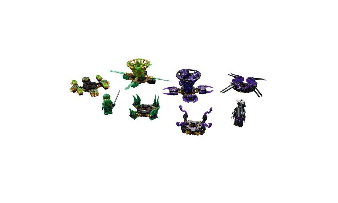 Lego Ninjago Spinjitzu Lloyd Contra Garmadon 208 Peças 70664 Lego
