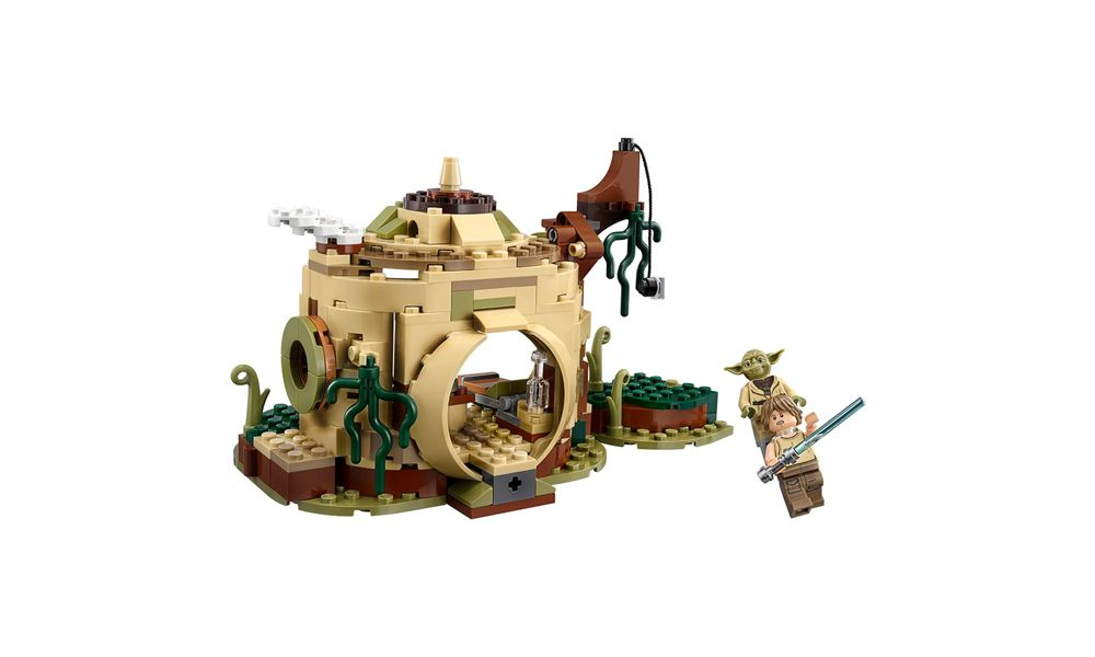 Lego Star Wars A Cabana de Yoda 229 Peças 75208 Lego