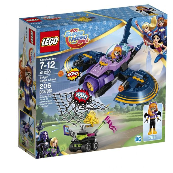 Lego Super Heroes DC A Perseguição em Batjet de Batgirl 206 Peças 41230 Lego
