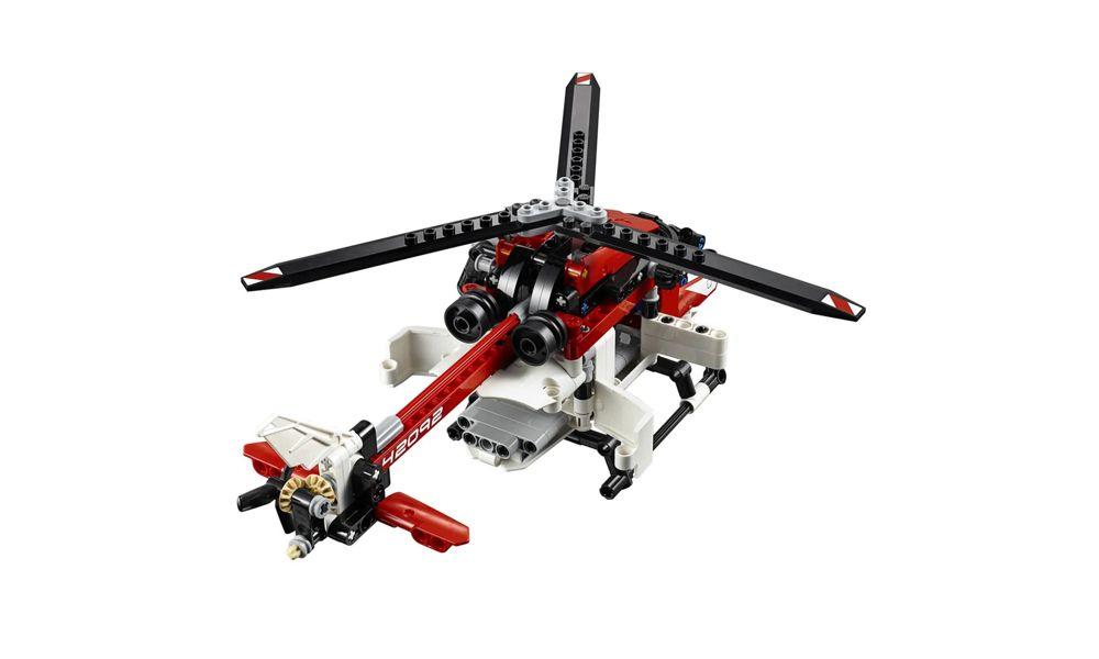 Lego Technic Modelo 2 em 1 Veículos Aéreos 325 Peças 42092 Lego
