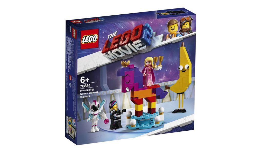 Lego The Movie Apresentando a Rainha Watevra Wa'Nabi 115 Peças 70824 Lego