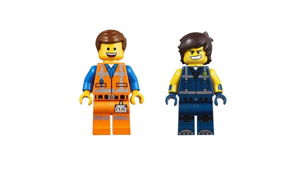 Lego The Movie Rextreme Offroader do Rex 236 Peças 70826 Lego