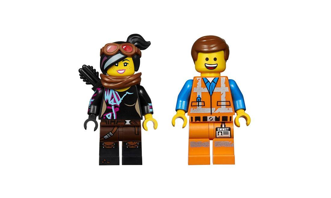 Lego The Movie Ultrakatty e Guerreira Lucy 348 Peças 70827 Lego