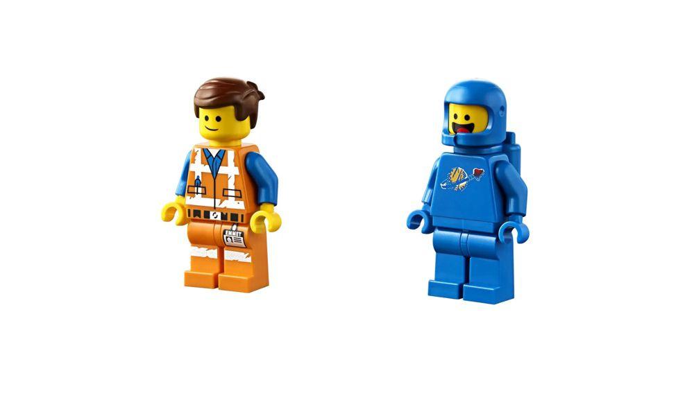 Lego The Movie Workshop de Emmet e Benny 117 Peças 70821 Lego