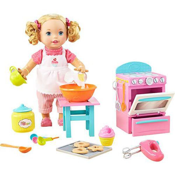 Boneca Little Mommy Pequena Chef DLB57 Mattel
