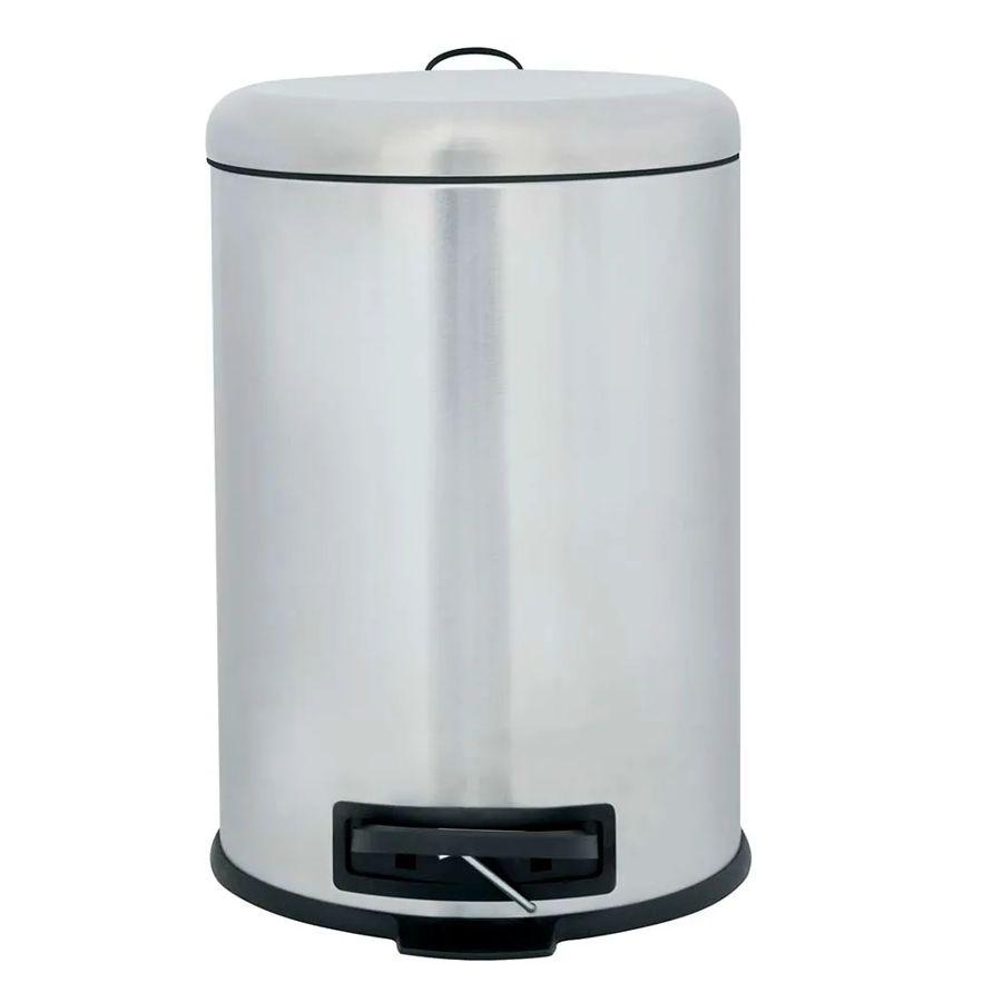 Lixeira 12 Litros Safira Fosca Inox 8228 Mor