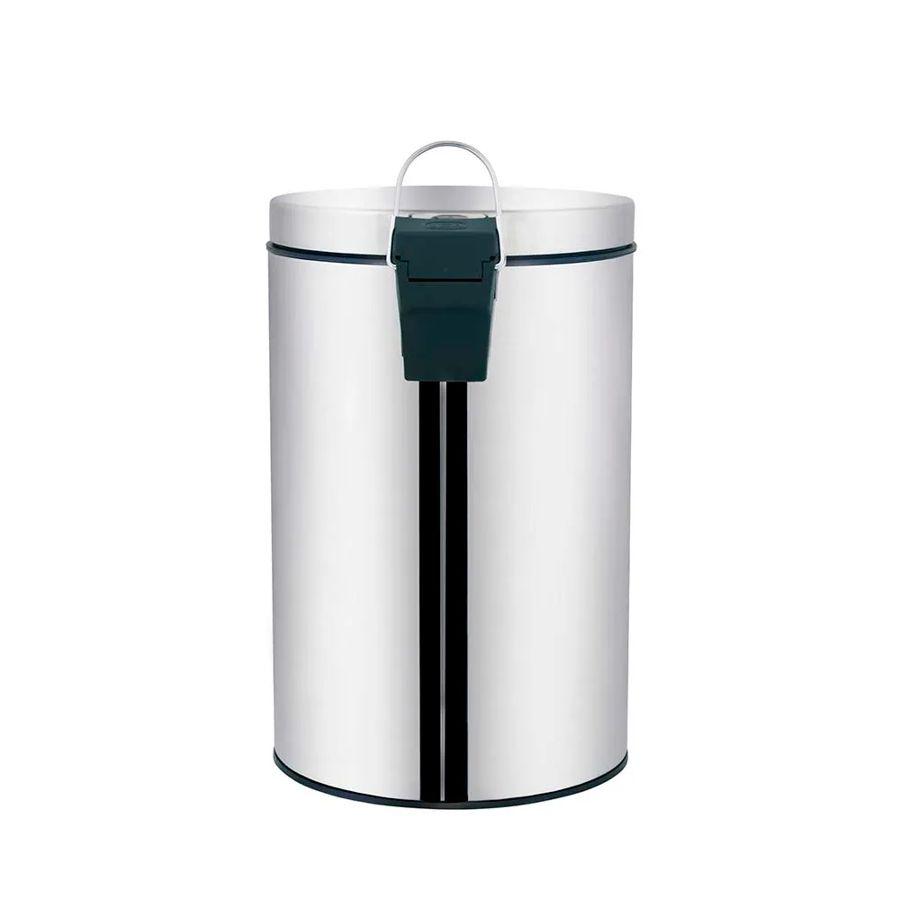 Lixeira 3 Litros Ágata Inox 8221 Mor