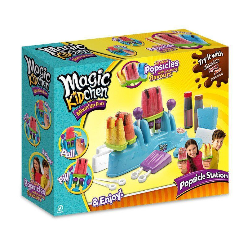 Magic KidChen Máquina Infantil de Fazer Paleta Mexicana 4441 DTC