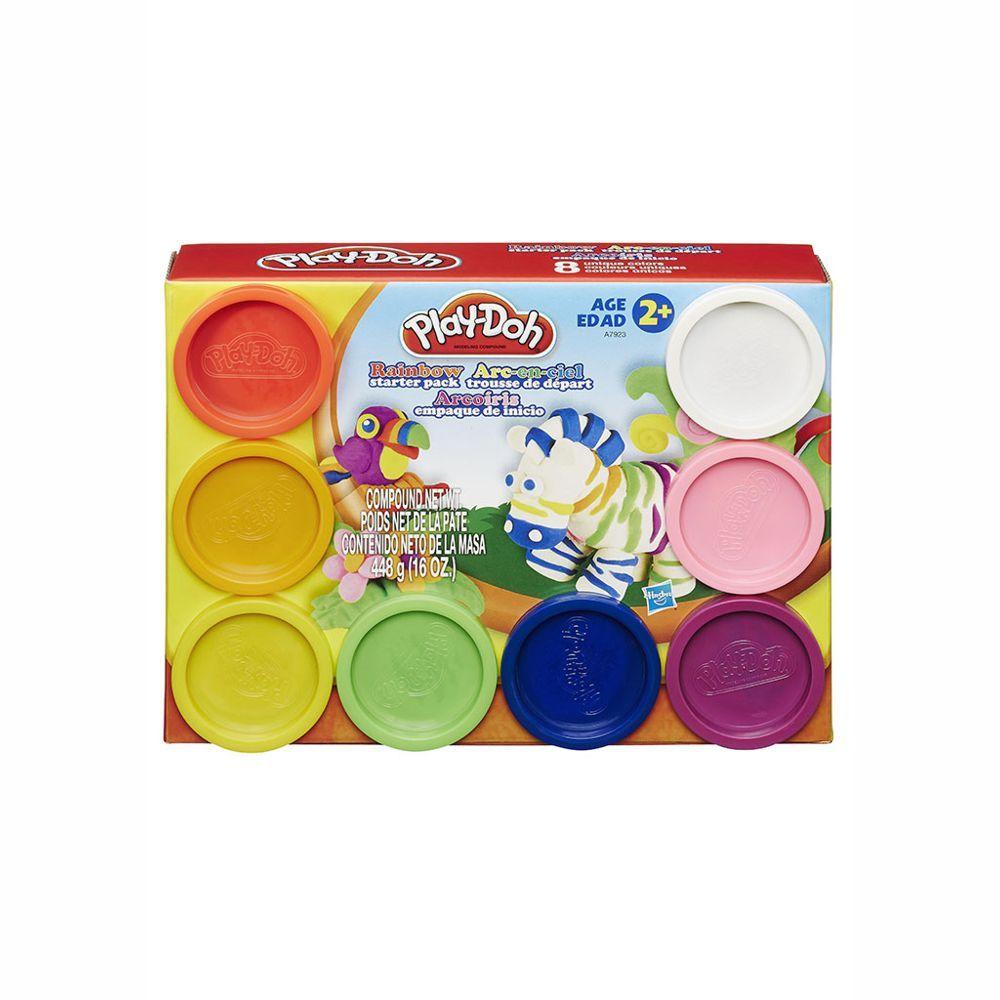 Massa de Modelar Pack c/ 8 Potes Play-Doh A7923 Hasbro