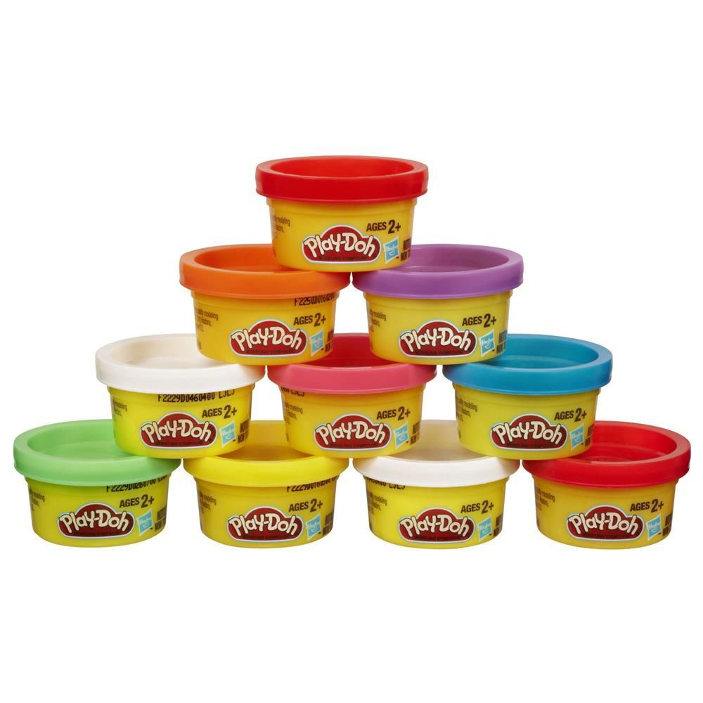 Massa para Modelar Play-Doh com 10 Mini Potes 22037 Hasbro