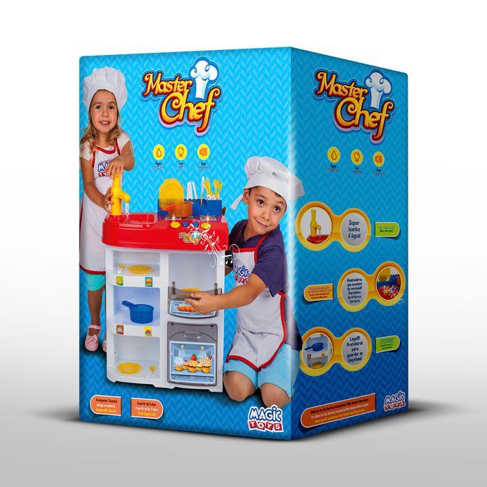 Master Chef Kids com Luz e Som 8035 Magic Toys