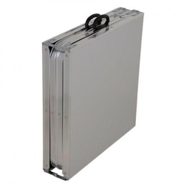 Mesa Dobrável Aluminio Brisa Ref 3413Mor