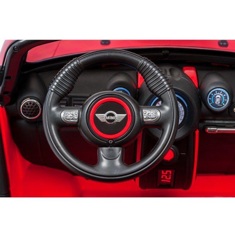 Carro Elétrico 12V Mini Cooper 2 lugares Vermelho 2631 Bandeirante
