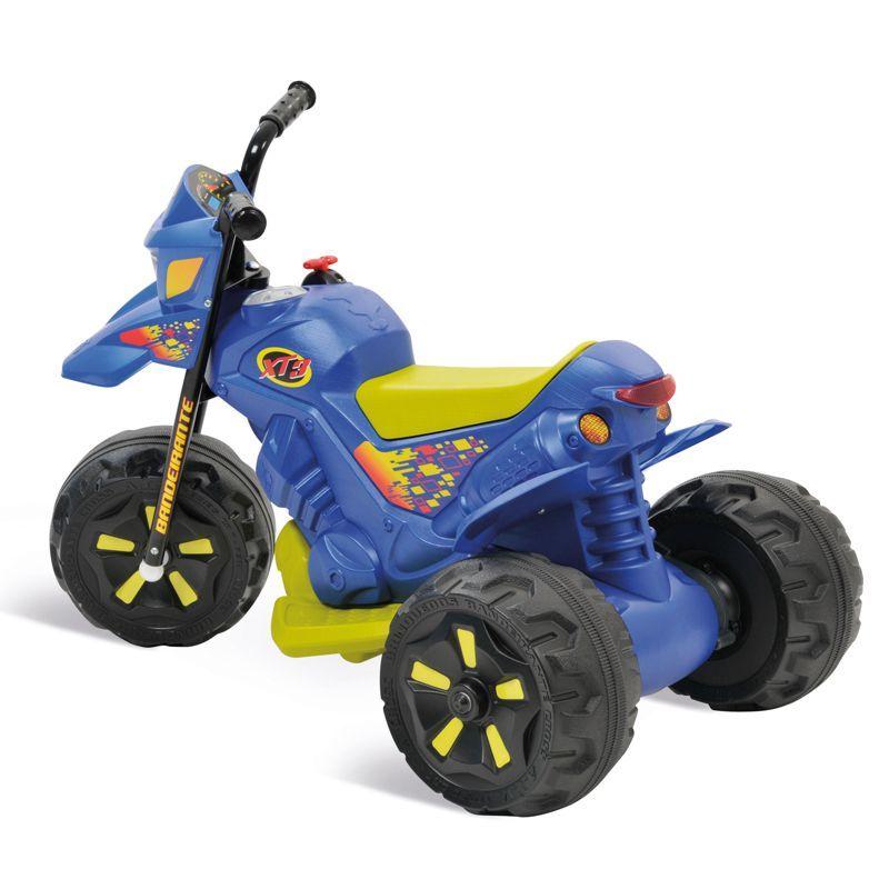 Moto XT3 Azul Elétrica 6V 2700 Bandeirante