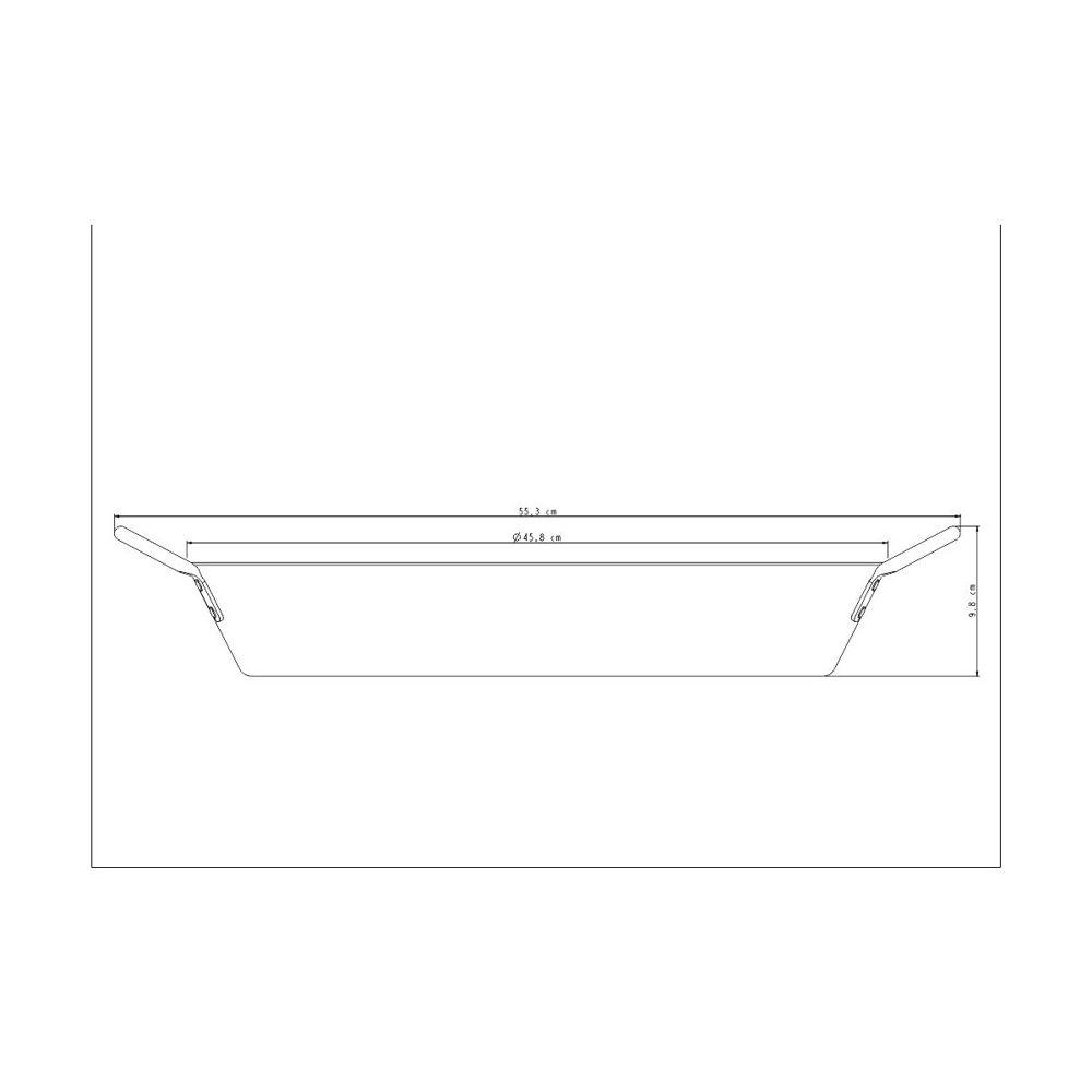 Paellera Profissional Alumínio 45cm 20896/045 Tramontina