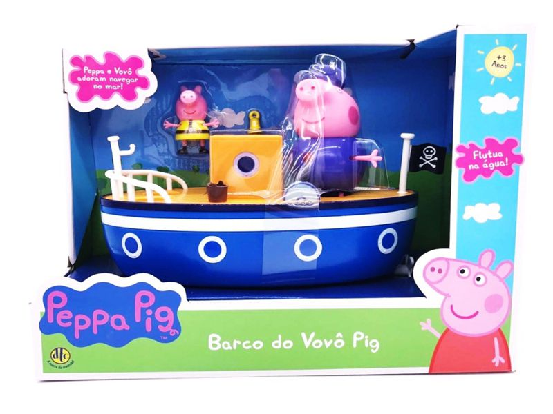 Peppa Pig Barco do Vovô Pig 4202 DTC