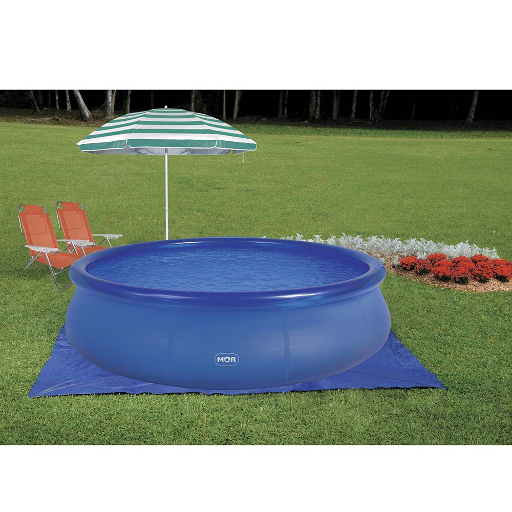 Piscina 6700 Litros Redonda Splash Fun 1055 Mor