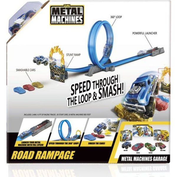 Pista Metal Machines Road Rampage 8701 Candide