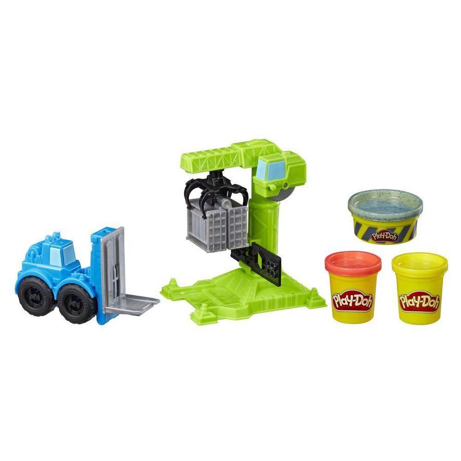 Play-Doh Wheels Guindaste e Empilhadeira E5400 Hasbro