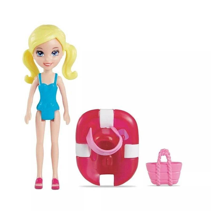 Parque Aquático dos Golfinhos Polly Pocket FNH13 Mattel