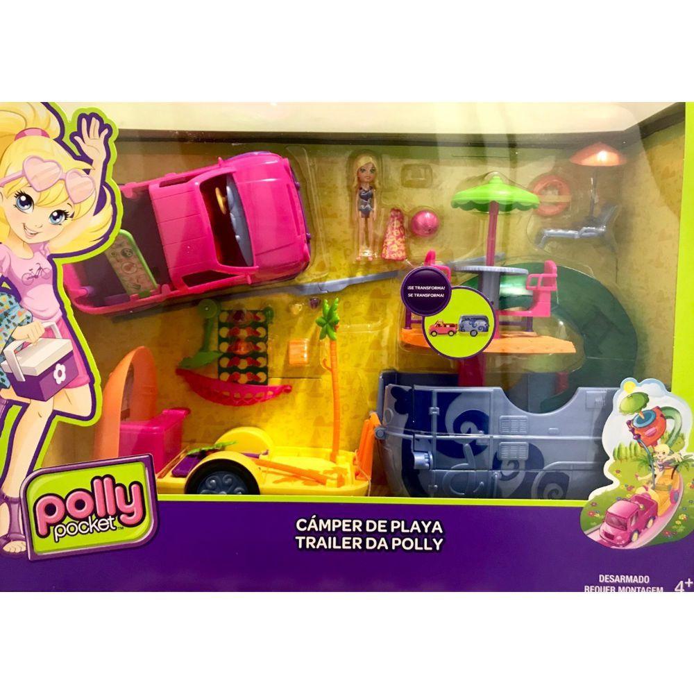 Trailer da Polly Pocket FRY86 Mattel
