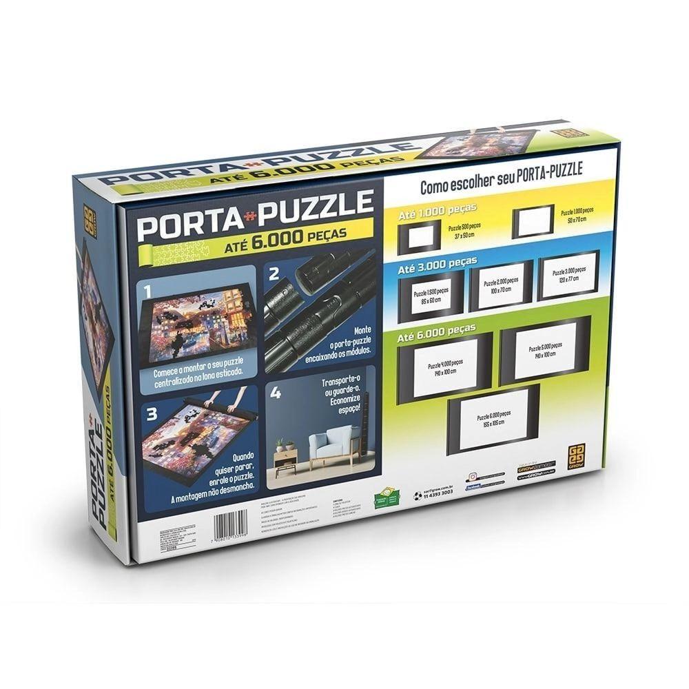 Porta Quebra Cabeças Puzzle Até 6000 Peças 3399 Grow