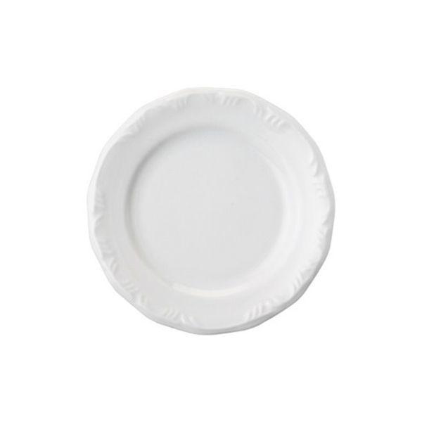 Prato Sobremesa 19cm Linha Pomerode Branco Porcelana Schmidt