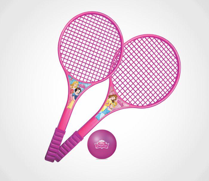 Raquete de Tênis Disney Princesa 563 Lider