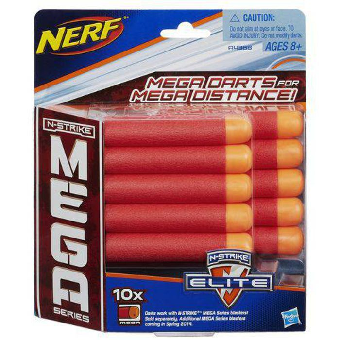 Refil Nerf Mega 10 Dardos A4368 Hasbro
