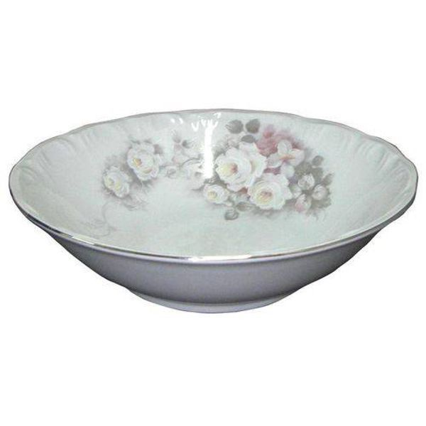 Saladeira 24cm Linha Pomerode Eterna Porcelana Schmidt
