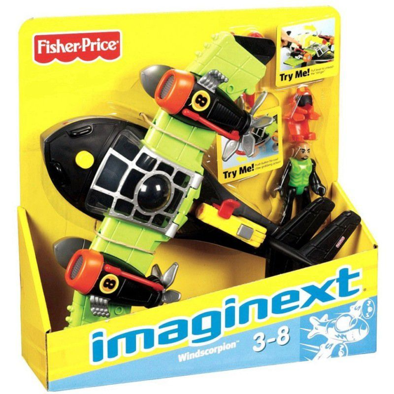 Super Avião Sky Racer Imaginext T5120 Mattel