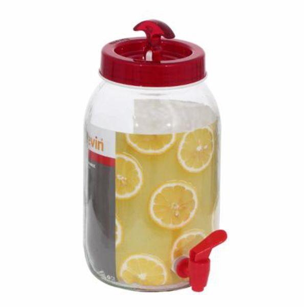Suqueira Dispenser Vidro Juicer 3 Litros 5116 Lyor