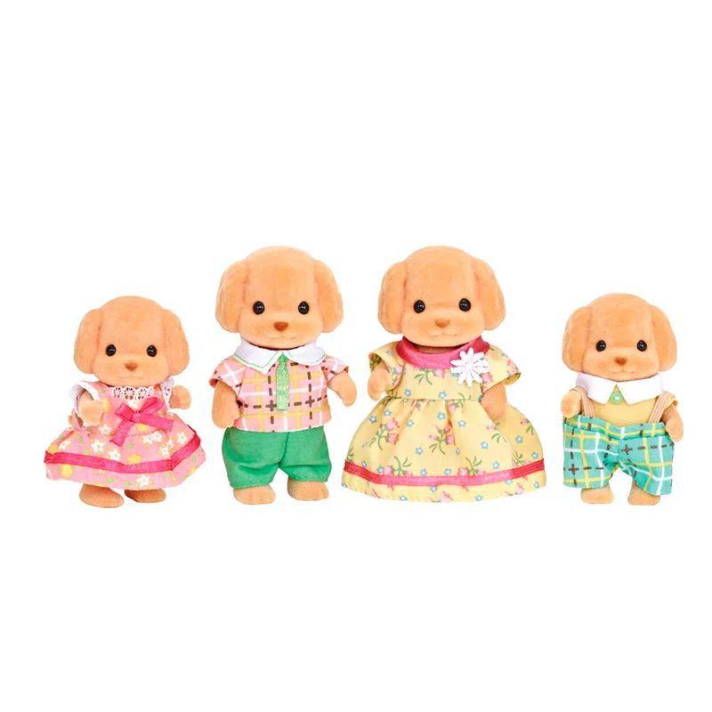 Sylvanian Families Família dos Poodles Toys 5259 Epoch Magia