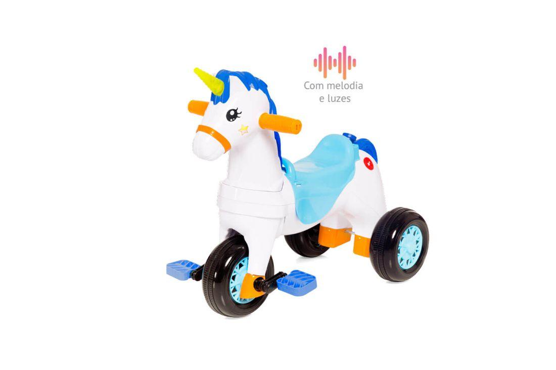 Triciclo Calesita Fantasy Azul 1002 Calesita