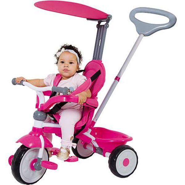 Triciclo Comfort Ride 3x1 Rosa 0783.3 Xalingo
