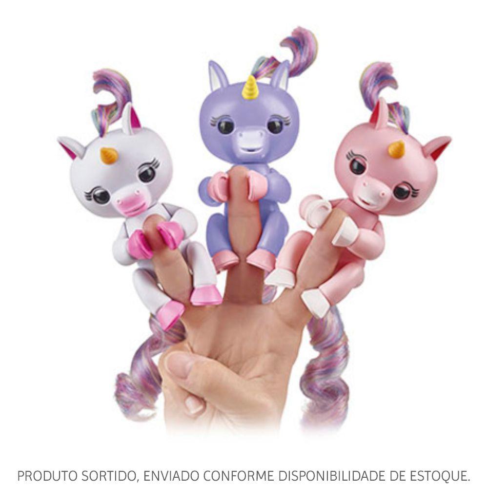 Unicórnio Fingerlings Interativo Sortido 3615 Candide
